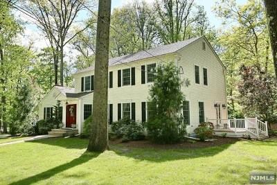Upper Saddle River Single Family Home For Sale: 23 Deerhorn Trail