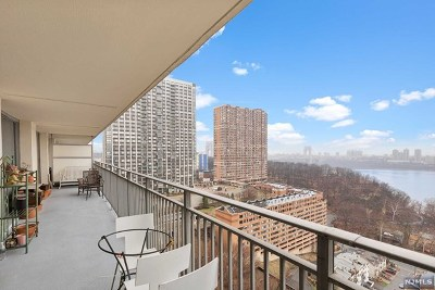 Fort Lee Condo/Townhouse For Sale: 1530 Palisade Avenue #9h