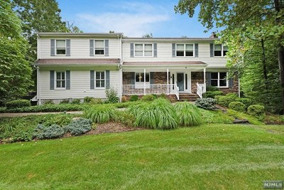 Montvale Single Family Home For Sale: 48 Valley View Terrace