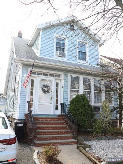 North Bergen Single Family Home For Sale: 1001 88th Street
