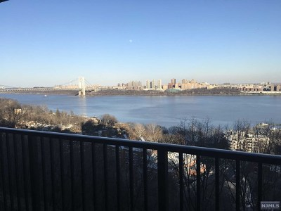 Fort Lee Condo/Townhouse For Sale: 3 Horizon Road #604