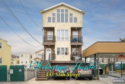 West New York Multi Family 2-4 For Sale: 433 55th Street