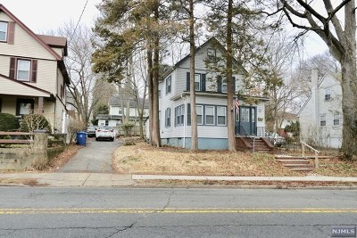 Englewood Single Family Home For Sale: 120 Lafayette Place