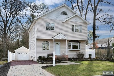 Closter Single Family Home For Sale: 33 Division Street