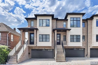 Palisades Park Condo/Townhouse For Sale: 269 9th Street #B