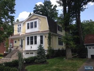 Leonia Single Family Home For Sale: 31 Glenwood Avenue
