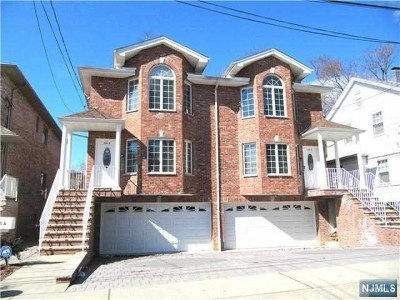 Palisades Park Condo/Townhouse For Sale: 233a&b East Columbia Avenue #A