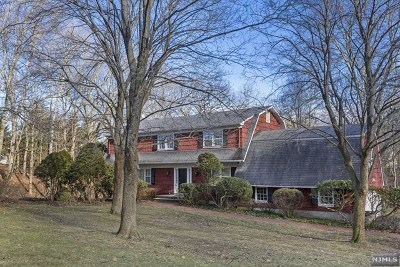 Franklin Lakes Single Family Home For Sale: 245 Indian Trail Drive