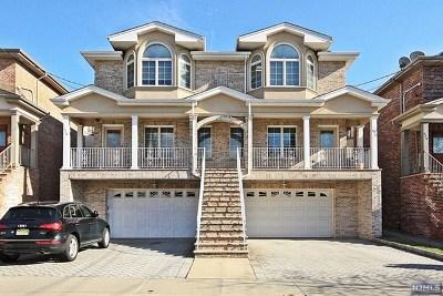 Palisades Park Condo/Townhouse For Sale: 530b Hillside Avenue