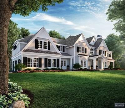Ho-Ho-Kus Single Family Home For Sale: 21 North Saddle Brook Drive