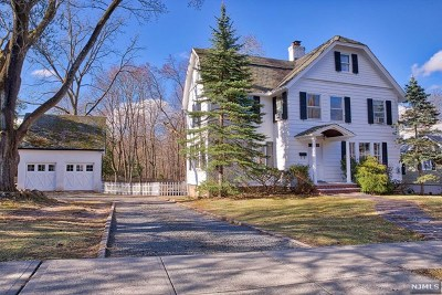 Closter Single Family Home For Sale: 290 Demarest Avenue