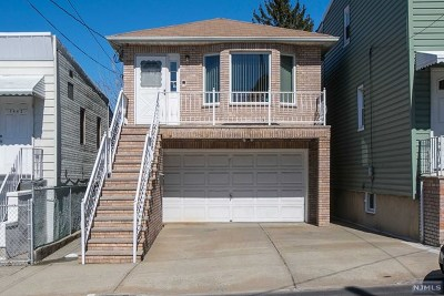 North Bergen Single Family Home For Sale: 1440 44th Street