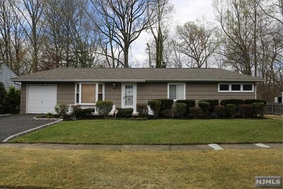 River Edge Single Family Home For Sale: 377 Valley Road