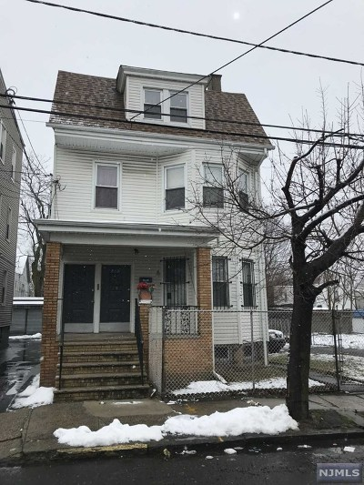 Irvington NJ Multi Family 2-4 For Sale: $269,000