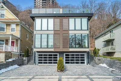 Edgewater Condo/Townhouse For Sale: 398 Undercliff Avenue