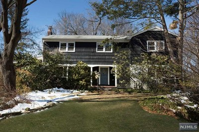 Woodcliff Lake Single Family Home For Sale: 30 Ravine Drive