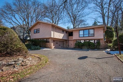 Englewood Cliffs Single Family Home For Sale: 329 Casper Road