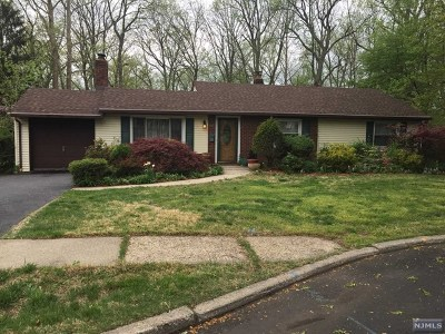 River Edge Single Family Home For Sale: 409 Valley Road