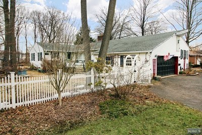Waldwick Single Family Home For Sale: 31 Bohnert Place