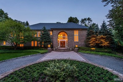 Saddle River Single Family Home For Sale: 8 Warewoods Road