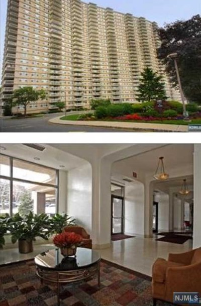 Fort Lee Condo/Townhouse For Sale: 555 North Avenue #26 S