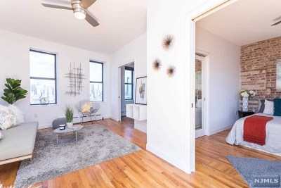 Weehawken Condo/Townhouse For Sale: 845 Boulevard East #55d