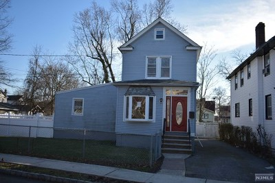 Englewood Single Family Home For Sale: 44 Florence Street