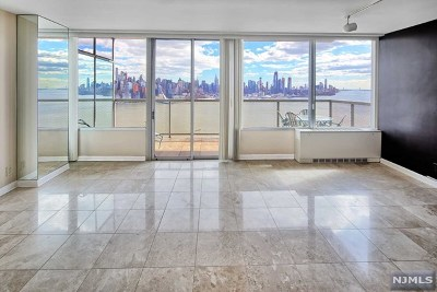 West New York Condo/Townhouse For Sale: 6050 Boulevard East #Phj