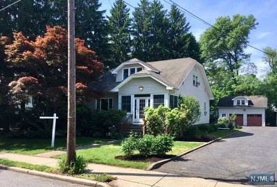 Glen Rock Single Family Home For Sale: 518 Ackerman Avenue