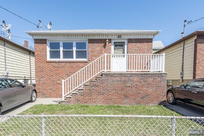 Hudson County Single Family Home For Sale: 141 West 2nd Street