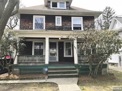 Leonia Single Family Home For Sale: 206 Crescent Avenue