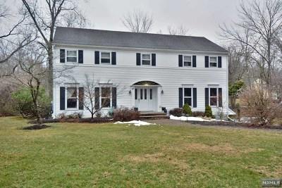 Upper Saddle River Single Family Home For Sale: 60 Pleasant Avenue
