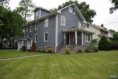 Teaneck Single Family Home For Sale: 287 Sherman Avenue