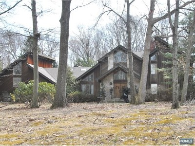 Saddle River Single Family Home For Sale: 15 East Denison Drive