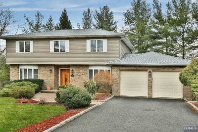 Glen Rock Single Family Home For Sale: 48 William Place