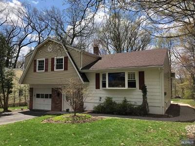 Woodcliff Lake Single Family Home For Sale: 21 Oak Street