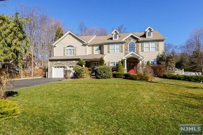 Upper Saddle River Single Family Home For Sale: 21 Lake Road