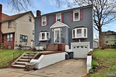 Hudson County Single Family Home For Sale: 4 Webster Avenue
