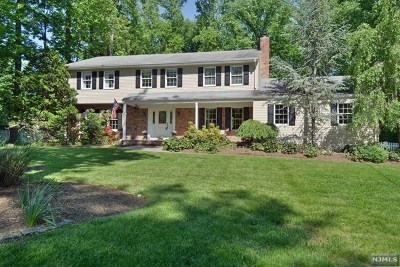 Upper Saddle River Single Family Home For Sale: 44 Brookside Drive
