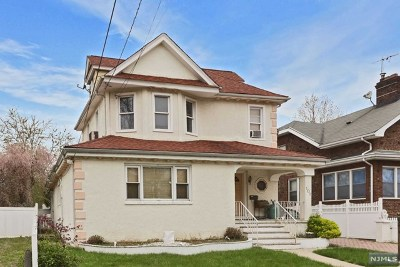 Hackensack Single Family Home For Sale: 101 Pine Street