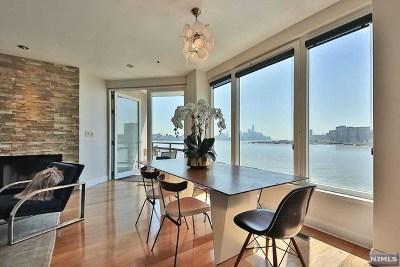 Weehawken NJ Condo/Townhouse For Sale: $750,000