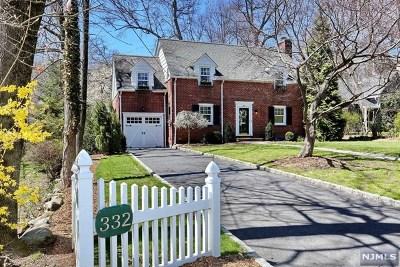 Ridgewood Single Family Home For Sale: 332 North Monroe Street