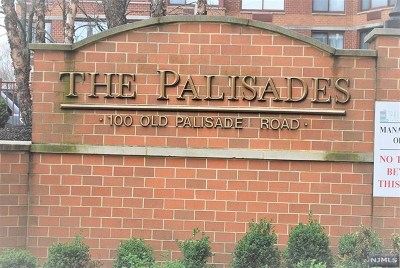 Fort Lee Condo/Townhouse For Sale: 100 Old Palisade Road #3515