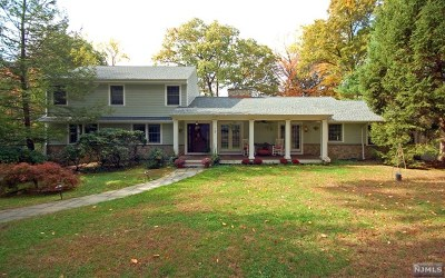 Upper Saddle River Single Family Home For Sale: 19 Plymouth Drive