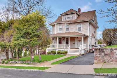 Englewood Single Family Home For Sale: 57 Franklin Street