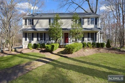 Upper Saddle River Single Family Home For Sale: 12 Pharis Place