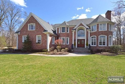 Mahwah Single Family Home For Sale: 20 Wood Crest Court