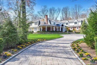 Saddle River Single Family Home For Sale: 28 Denison Drive