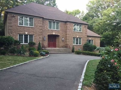Franklin Lakes Single Family Home For Sale: 731 Smoke Hollow Trail