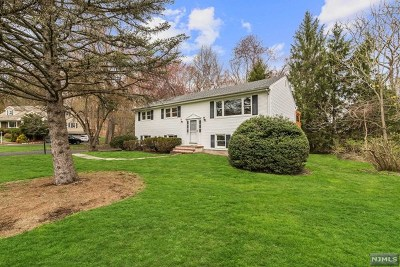 Franklin Lakes Single Family Home For Sale: 332 Forest Glen Avenue